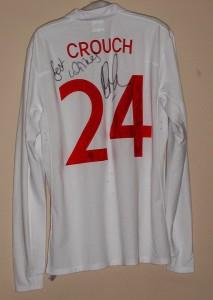 Peter Crouch's football shirt