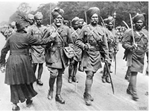 Indian soldiers WW1 IWM