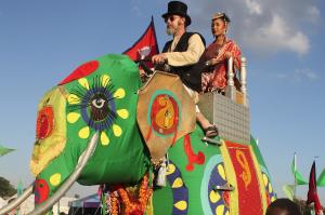 Mela 2014 elephant